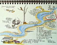 My Story Map for Day 3 Kayaking down the Katherine River in the Northern Territory, Australia