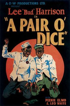 Black Hollywood: A Pair of Dice by Black History Album, via Flickr