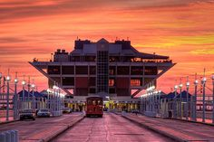 St. Petersburg Pier Sunrise ~ Florida. This is now completely closed to be replaced hopefully soon.