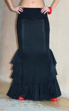lycra flamenco skirt - Buscar con Google