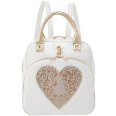 【BABY THE STARS SHINE BRIGHT】 リュックサック・バックパック アリス Alice White ($6.37) ❤ liked on Polyvore featuring bags