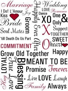 I love the look of Subway Art. Subway art is a graffiti style of art, but as of late has really been catching on in the mainstream. The Words, Printable Art, Free Printables, Wedding Printable, Just In Case, Just For You, Growing Old Together, Romance, Love My Husband