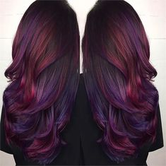 Playing With Purple: Image Gallery of Gorgeous Purple Hair Color - Hair Color - Modern Salon