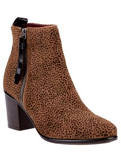 Animal Print....OPENING CEREMONY 'Shirley' Ankle Boot