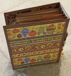 Mini Album Cookbook: Thanksgiving Envelope Mini Album ~ Debbie Mumm