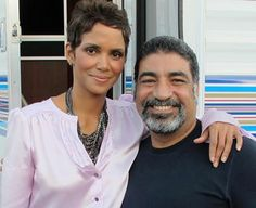 Halle Berry and Sayed Badreya while recently filming and both happen to be action movie superheros but on 4/10/14 Sayed will be our hero live at the Images Diversity Conference in Detroit/Dearborn. ;) (#justputtingitoutthere but Halle you are more than welcome to join us!)  see Sayed and 5 diversity experts including Edward James Olmos on 4/10. www.3DConsults.com/images.html