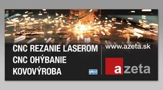 Reklamný billboard pre spoločnosť Azeta