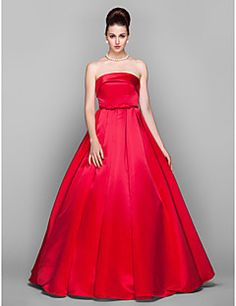 TS+Couture®+Prom+/+Formal+Evening+/+Military+Ball+/+Black+Tie+Gala+Dress+-+Elegant+/+Vintage+Inspired+Plus+Size+/+Petite+Ball+Gown+Strapless+–+USD+$+300.00