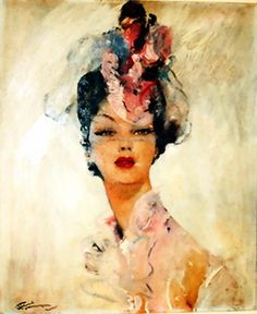 Jean-Gabriel Domergue March 1889 – 16 November 1962 was a French painter specialising in portraits of Parisian women. Domergue was born. Jean Gabriel Domergue, American Impressionism, French Artists, Up Girl, Portrait Art, Art Pictures, Art Photography, Art Gallery, Illustration Art