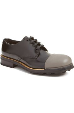 toe cap derby shoes Prada rS83nx