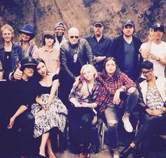 Past and present cast!!! #TWDFamily love these guys so much!! :* ♡♡♡♡♡♡♡♡♡♡♡♡♡♡♡♡♡♡♡♡