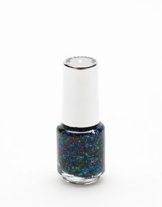 1f639f872d879 GREAT BARRIER REEF is a mix of green, blue, pink & red glitter nail. ""