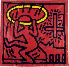 Keith Haring dal 1978 al 1990 – Daniela Scarel Keith Haring Art, Doodle Cartoon, Modern Pop Art, New York Art, Drawing Skills, Graffiti Art, Art Market, Erotic Art, American Artists