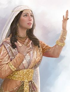 Esther was a Jewish girl who lived in the Persian city of Shushan. She was raised by her cousin Mordecai, a servant of King Ahasuerus. How did she become queen? Queen Esther Bible, Esther Bible Study, Book Of Esther, Queen Esther Costume, Queen Costume, Esther Biblia, Most Beautiful Women, Beautiful People, Caleb Y Sofia
