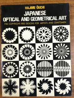 Japanese Optical and Geometrical Art 746 Copyright Free Designs for Artist and c