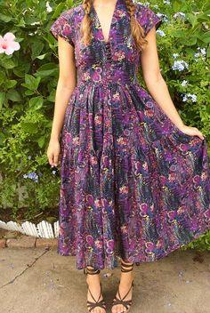 Boho Inspired Liberty of London Dress | Mood Sewing Network | Bloglovin'