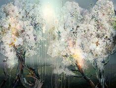 Colagens digitais paradisíacas de Ysabel LeMay