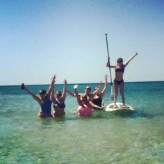 #Barrett2Williamson 18 days 10\10\15 #mrandmrs #bacheloretteparty #paddleboarding by andreablake13