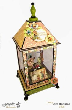 CHA PROJECTS: Once Upon A Springtime Fairy Lantern and Ranger Designer Challenge.