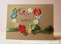 great idea to use up those bitsy flowers in your stash