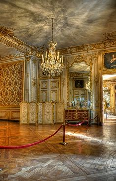 Forbidden Room in the Palace of Versailles (HDR)