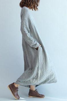 Autumn Long Sleeve Casual Long Dress Women Clothes