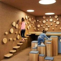 Gallery of Nía School / Sulkin Askenazi - 2 : Gallery of Nía School / Sulkin Askenazi - 2 Daycare Design, Playroom Design, Kids Room Design, School Design, Kindergarten Interior, Kindergarten Design, Kids Indoor Playground, Playground Design, Indoor Playroom