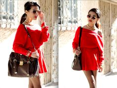 """Lady in Red"" by Olivia Lopez on LOOKBOOK.nu"
