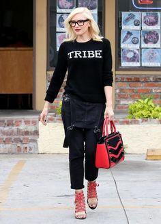 Gwen Stefani Photos: Gwen Stefani Visits Her Acupuncturist