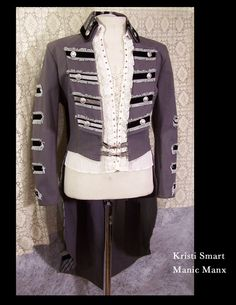 Mens Steampunk Sgt. Peppers Ring Leader Coat