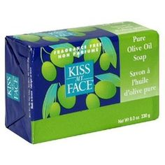 Olive Oil soap from Kiss My face is great..