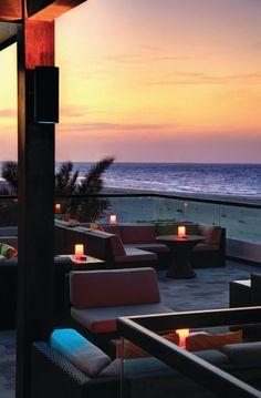 Taras Beach House Rooftop w Park Hyatt Abu Dhabi 5★  #Wspaniałe #egzotyczne #wakacje blisko Ferrari World - Abu Zabi