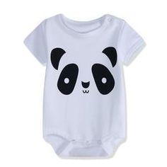 Toddler Baby Boys Bodysuit Short-Sleeve Onesie Straight Outta Gym Print Jumpsuit Autumn Pajamas