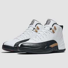 """The Air Jordan 12 """"Chinese New Year"""" releases on January For a full detailed look at this upcoming 2017 release, tap the link in our bio. Jordan 13 Shoes, Jordan Basketball Shoes, Nike Air Jordans, Retro Jordans, Sneakers Mode, Custom Sneakers, Shoes Sneakers, Nike Air Jordan Retro, Mens Fashion Shoes"""