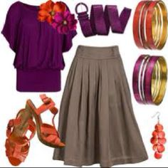 More teacher outfits, polyvore LOVE the skirt not the top