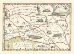 3. A Map Of Penistone & District by GillianTylerArt on Etsy