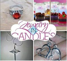 Jewelry In Candles the only Jewelry Candle company you can choose your ring size in every scented product. Candles with Jewelry have hidden jewelry waiting to be discovered! Jewelry Candles, Wax Tarts & Aroma Beads. Visit https://www.jewelryincandles.com/store/angelanwilliams and order yours today.  #JewelryInCandles