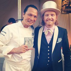 with Chef Susur Lee