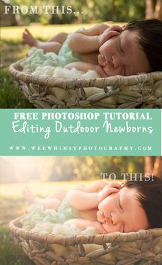 Watch me edit this image by hand in Photoshop! Steps can be applied with any version of Photoshop. A newborn Photoshop Editing Tutorial.