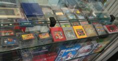 cartuchos portáteis também fazem muito sucesso nas lojas de games antigos