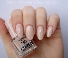 Nailpolis Museum of Nail Art | Golden Rose Ice Color 104 Swatch by ania