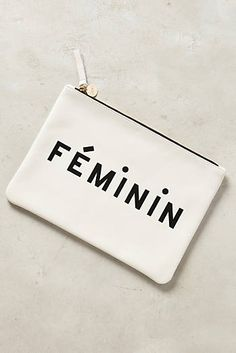 Clare V Feminin Pouch