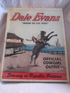 THE MOST UNUSUAL ITEM ~  Vintage Dale Evans Western Cowgirl Outfit Roy Rogers Fame Yankiboy 1950's Toy | eBay