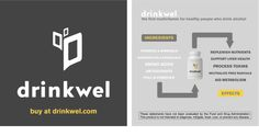 How Drinkwel Works - The Infographic