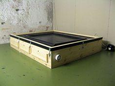 DIY Exposure unit plans inc. vacuum top