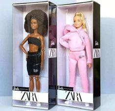 Новые куклы Barbie X ZARA 2021: блондинка и афроамериканка Disney Barbie Dolls, Barbie Doll House, Vintage Barbie Dolls, Barbie And Ken, Doll Clothes Patterns, Clothing Patterns, Doll Storage, Barbie Doll Accessories, Beautiful Barbie Dolls
