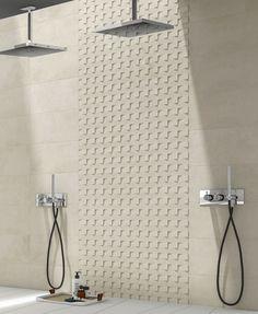 Sovereign - Studio Effetto Bathtub, Curtains, Shower, Studio, Bathroom, Ivory, Home Decor, Standing Bath, Rain Shower Heads