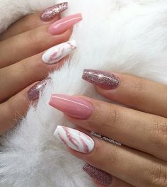 Attractive nails reference number 7268726678 - check out these stunning, superb design planning right here. Cat Eye Nails, Aycrlic Nails, Rose Nails, Hair And Nails, Fall Acrylic Nails, Acrylic Nail Designs, Stylish Nails, Trendy Nails, Perfect Nails