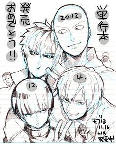 One punch man - Saitama and Genos Mob - Mob and Reigen Psycho 100, Mob Psycho, Anime Manga, Anime Art, Otaku, Saitama One Punch Man, Japanese Anime Series, Naruto, Anime Crossover