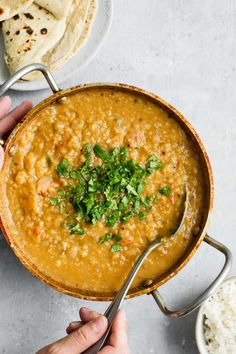 Masoor Dal Tadka - Indian Red Lentil Dal